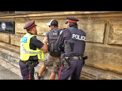 Thumbnail: Arrested in Canada...