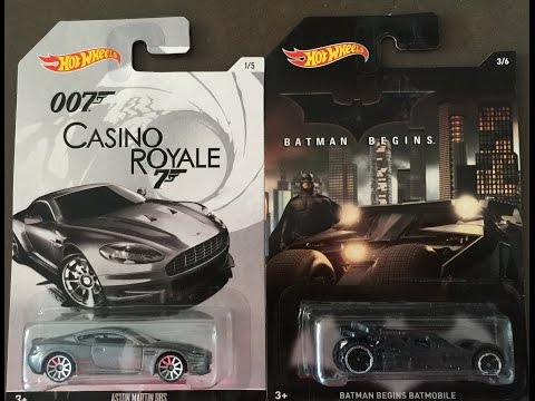 Toy hunting at Toys R Us. Hotwheels 2015 Batmobile  & 007 James Bond cars. looking at toys