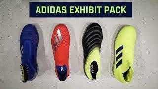 adced25c8bfc adidas Exhibit Pack Unboxing   Predator 19+, X 18+, ...
