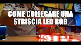 Come collegare una striscia LED RGB
