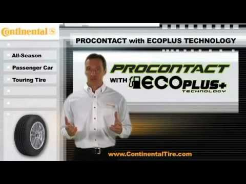 Contiental Tire ProContact with EcoPlus Technology