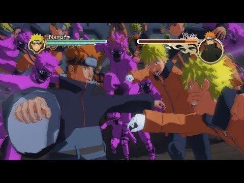 Naruto Ninja Storm 2 Trilogy PC MOD Walkthrough Part 22 60 FPS - Pre Gaiden Naruto vs Yahiko Tendo
