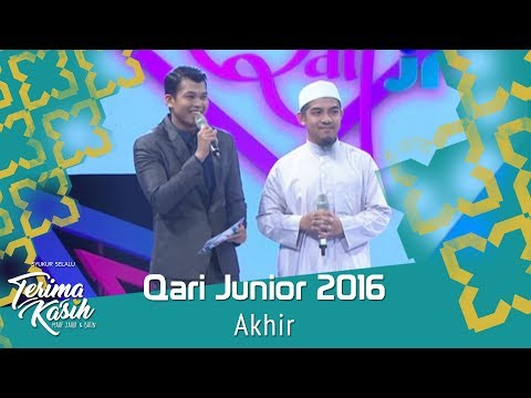 Qari Junior 2016 | Akhir