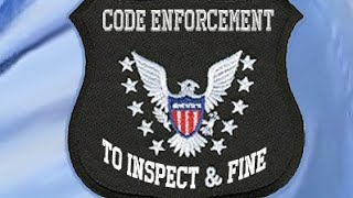 AGENDA 21: LA COUNTY CODE INSPECTORS ATTEMPT TO INSPECT INSIDE MY HOUSE FOR CODE VIOLATIONS