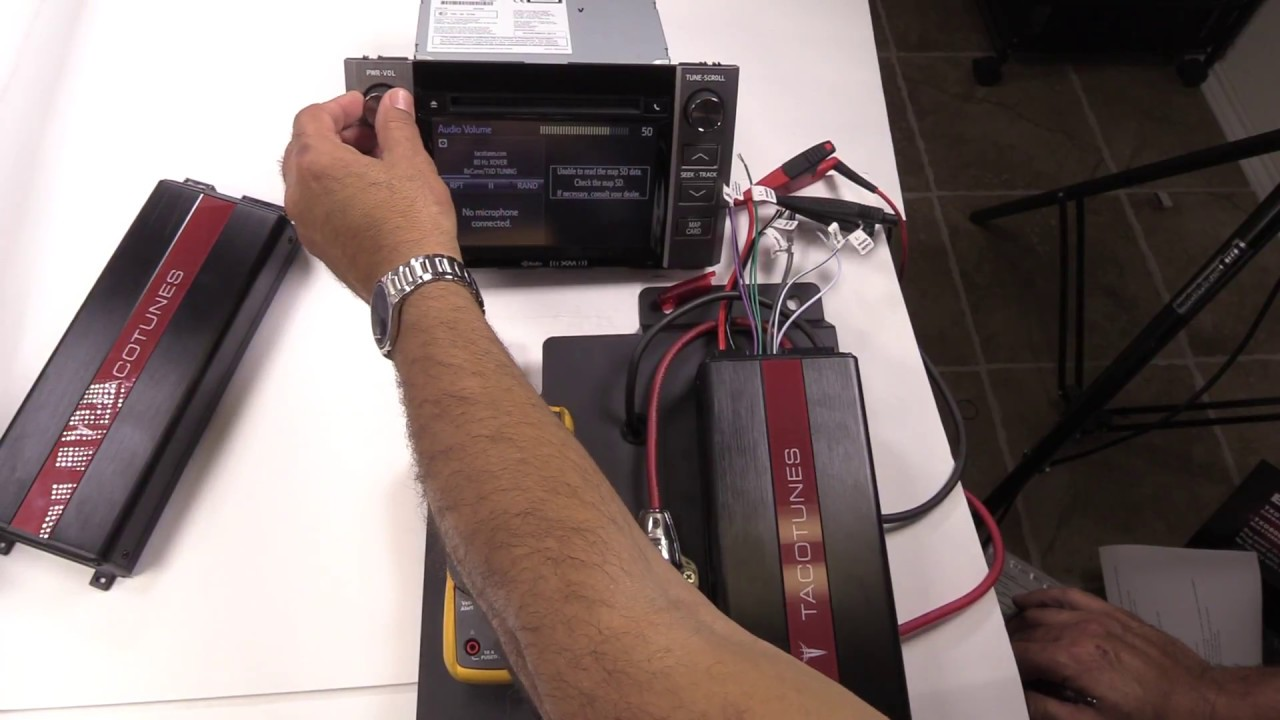 How to tune TXD8005 Amp 5 channel amp