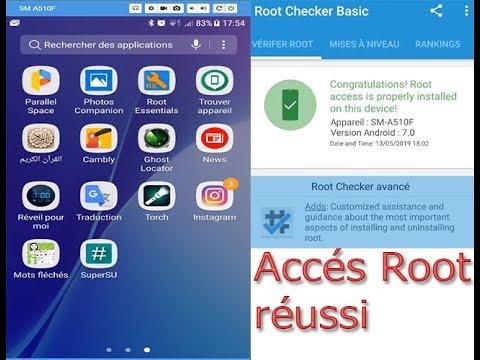 Comment Rooter Tous Les Téléphones Samsung Cas De Galaxy A5 2016