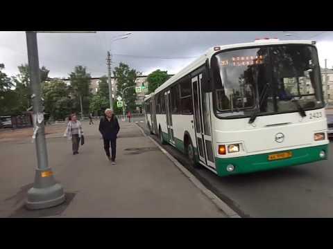 Автобус Санкт-Петербурга 9-405: ЛиАЗ-6212.00 б.2423 по №93 (28.05.19)