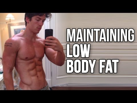 Maintaining a Low Body Fat Year Round