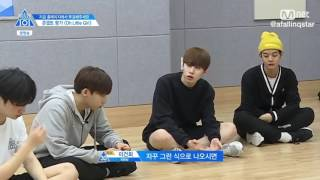 [ENG] Oh Little Girl team pranks Park Jihoon & Jung Sewoon    Produce 101 S2 E9