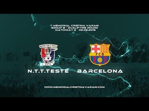N.T.T.TESTE-FC BARCELONA 0-6 (Memorial Cristina Varani)