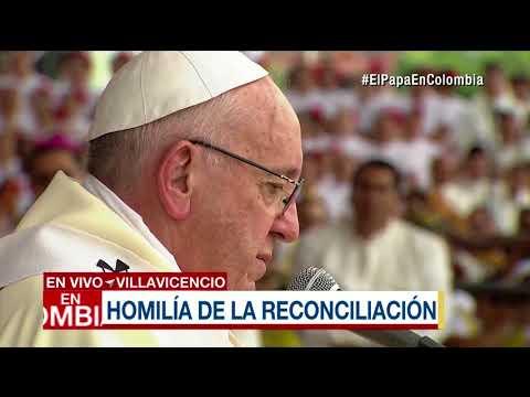 Homilía del papa en Villavicencio, Colombia | Noticias Caracol