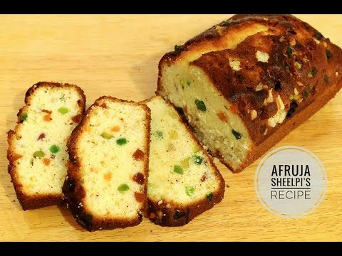 Fruit Cake Recipe | Dry Fruits Cake Recipe | How To Make Fruit Cake | Easy Cake Recipe