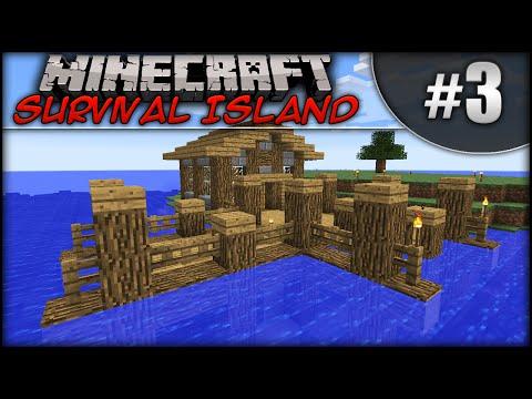 Minecraft: Survival Island - Episode 3 - Dock House!