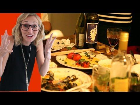 Dinner Party in Paris! : Paris Vlog #4