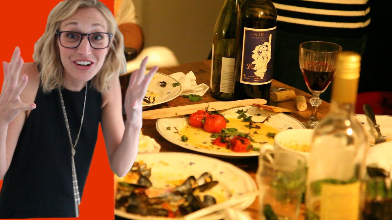 Dinner Party Ideas For 4 Part - 38: Dinner Party In Paris! : Paris Vlog #4 - YouTube
