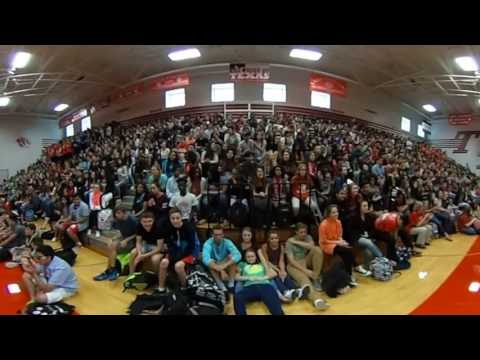 KTHS-TV presents our first 360 Pep Rally