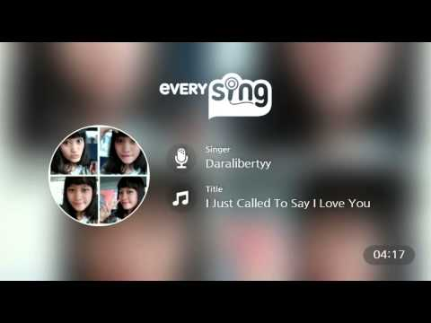 [everysing] I Just Called To Say I Love You