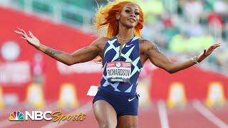 Sha'Carri Richardson makes a STATEMENT with dominant 100m heat at trials   NBC Sports