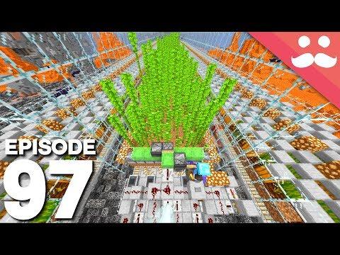 Hermitcraft 6: Episode 97 - INDUSTRIAL BAMBOO FARM!