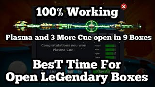 Plasma And 3 Cues Open In jusT 9 Boxes | BesT Time For Open Legendary Boxes Part#3 by LeGend DaNish