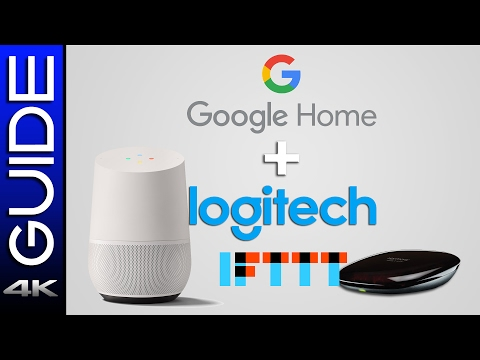 How To Control TV with Google Home, Logitech Harmony Hub & IFTTT Integration Guide