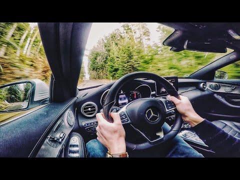 Mercedes Benz C Class C400 500 HP GAD Test Drive by AutoTopNL