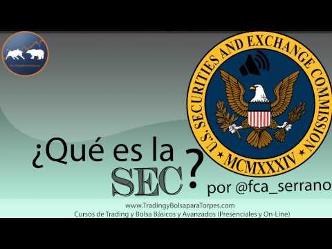 ¿Qué es la SEC? por @fca_serrano