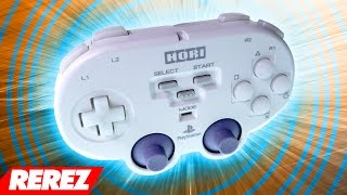 Pocket Sized Hori PlayStation Controller - Rerez
