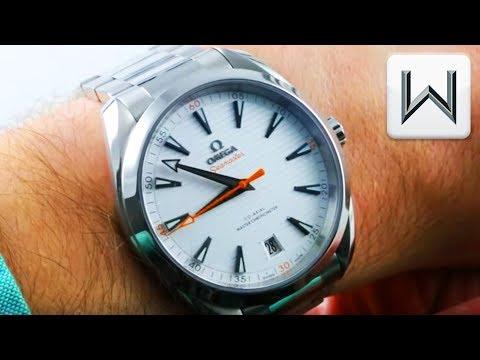 Omega Seamaster Aqua Terra Golf Edition 150m (220.10.41.21.02.001) Luxury Watch Review