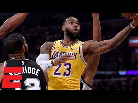 LeBron misses 2 overtime free throws, game-winner as Lakers lose to Spurs   NBA Highlights