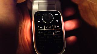 Sony Ericsson Z310 (i) review (lights & ringtones) flip style phone