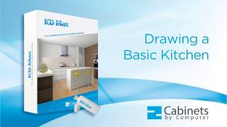 KD Max - Drawing a Simple 3D Kitchen Design in No Time