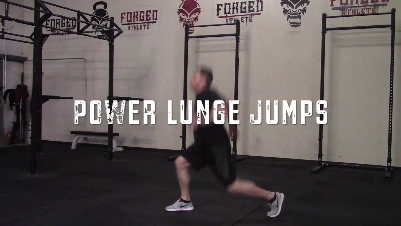 Power Lunge Jumps Youtube 10 Minute Cardio Workout Strength Circuit With Step Ups Builtlean Premium