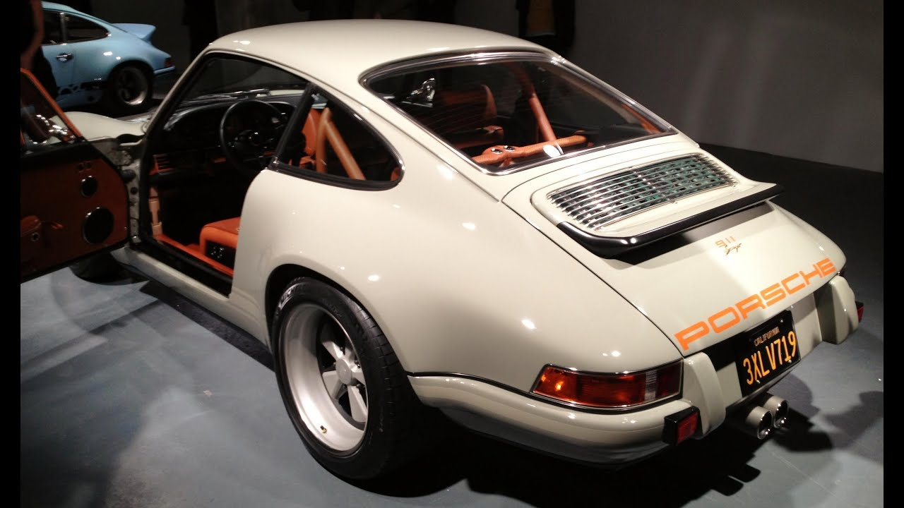 Kindig It Design >> Porsche Singer 911 - London Reception - YouTube