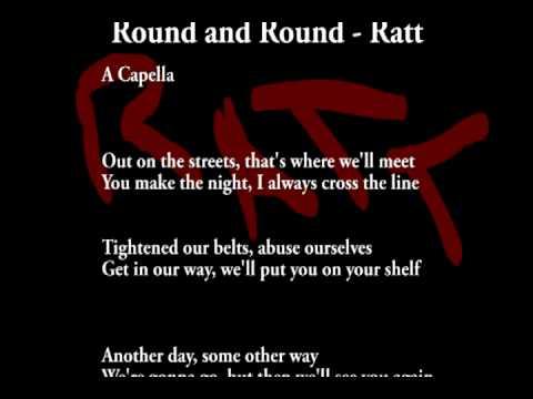 Round and Round - Ratt (A Capella)