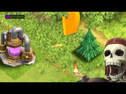 THIS TREE IS ATTACKING THE ELIXIR PUMP | Clash of Clans