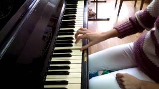 Упражнение Ш. Ганона №1 для фортепиано