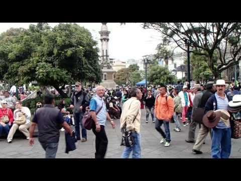 Artisan March in Favor of Water Law, Quito July 2nd 2014