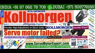 Kollmorgen Repair Resolver Replacement, Print Pack Food Servo Motor fault detection Drive Error code