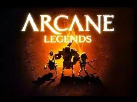 Arcane Legends Eine Runde Garetta Village Forgotten Ruins 🤤😲