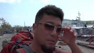 アキーラさん出発①タイ・プーケット・ラッサダー埠頭!Ferry from Ratsada pier in Phuket,Thailand