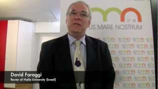 Interview with David Faraggi, Rector of Haifa University (Israel)