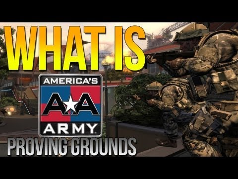 What Is Americas Army Proving Grounds (Review/First Impression)