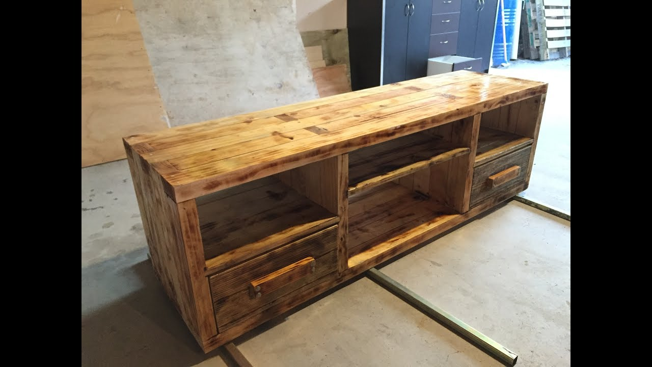 tv unit or tvstand make out from 2x4 youtube. Black Bedroom Furniture Sets. Home Design Ideas