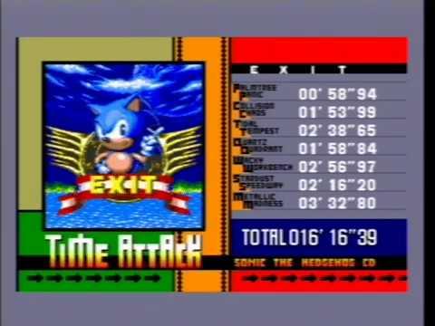 Sonic CD Custom Music Tracks - SEGA Mega-CD