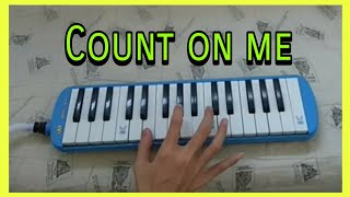 Bruno Mars - Count On Me | Pianika Cover ( Melodica)