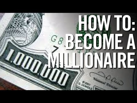 HOW TO BECOME A MILLIONAIRE STEP BY STEP (Even As A Teenager!)