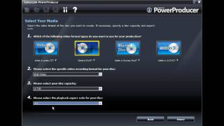 CyberLink PowerProducer 5 - Tutoriel Partie 1 - Créer un disque diaporama photo