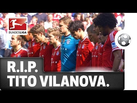 A Minute's Silence - Guardiola & Bayern remember Tito Vilanova