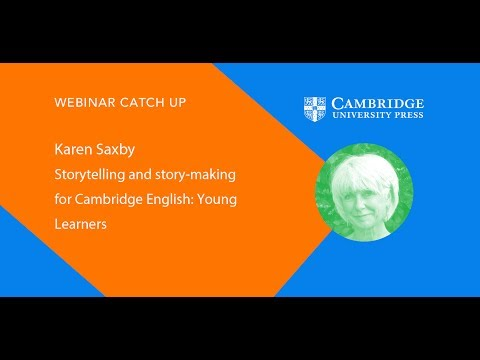 Storytelling and story-writing for Cambridge English: Young Learners